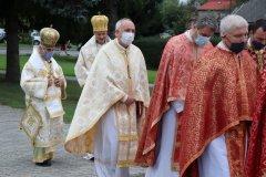 Ďakovná sv. liturgia  za 60 rokov o. J. Jurčenka- 17. 9. 2020